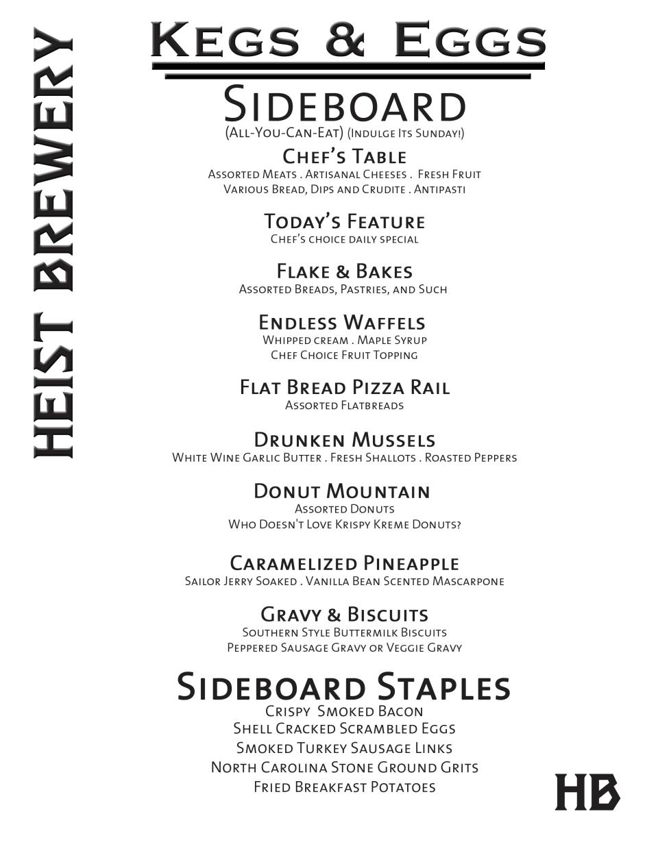 Brunch-Sideboard